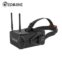 In Stock Eachine VR011 5 Inches 800x480 Diversity FPV Goggles 5 8G 40CH Raceband Pro DVR