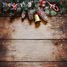 Yeele Christmas Photocall Decor Grunge Gifts Wood Photography Backdrops Personalized Photographic Backgrounds For Photo Studio