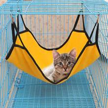 Cats Hammock Cat Cage Short Plush Litter Mat  Pet Products Cattery Bed Home Goods