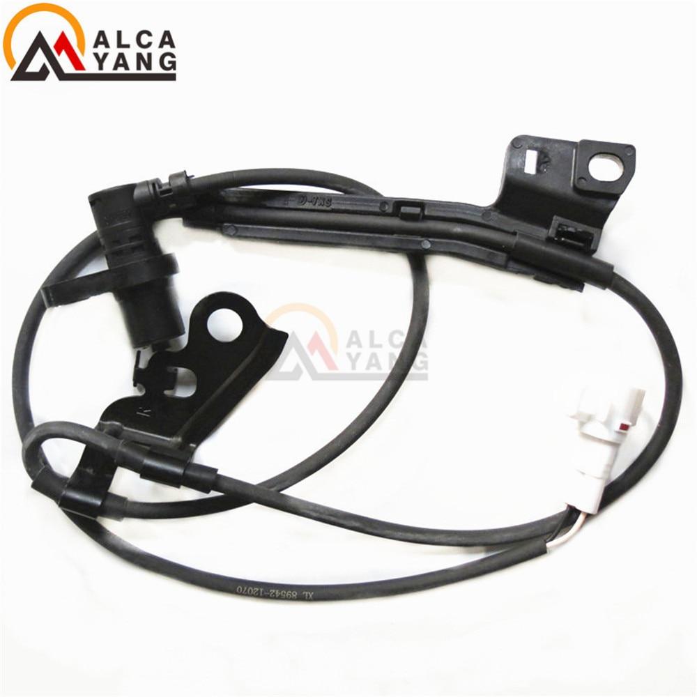Malcayang ABS Capteur De Vitesse De Roue Avant Droit pour Toyota Corolla (E120) 2003-2008 Verso 89542-12070 8954212070 ALS1393 5S6777