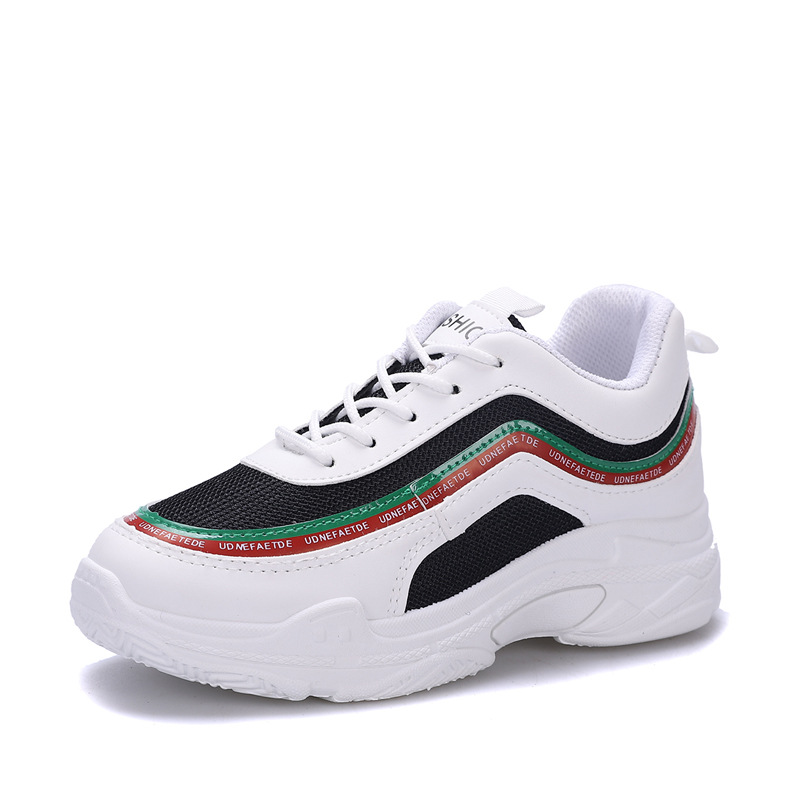 Women shoes 2018 new spring summer Clunky Sneakers trainer loafer top air non-slip wearproof Casual shoes joker fashion Daddys