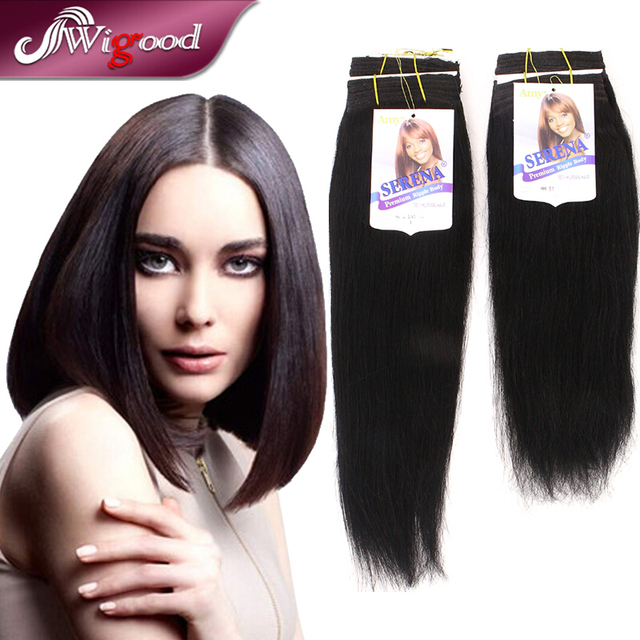 1pc Amy Serena Hh Silky 12 14 Color1 1b Blended Hair