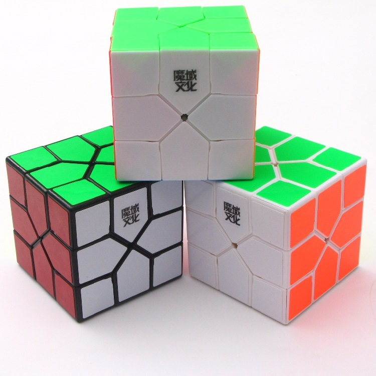 MoYu Redi Cube Magic Colorful Puzzle Speed Cube Professional Strange-Shape Cube Game Twist Educational Kid Toys For Children