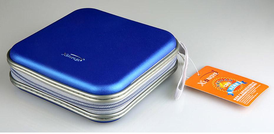 BUBM Durable CD Case 40pcs Discs Portable CD Bag DVD Case Storage Holder DVD Bag Fashion Useful CD Case For Car Bags (14)