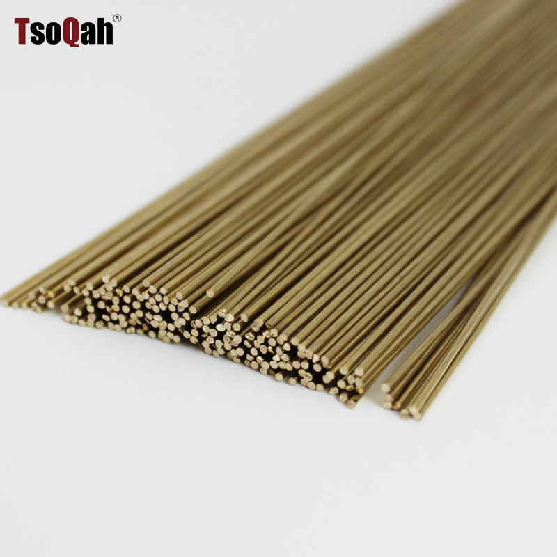 Brass Rods Bar Hardware Solid Round Rods Wires Sticks For Repair Welding Brazing Soldering Diameter 0.8mm To 6mm