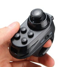 CLAITE R1 VR Glasses Portable Mini Wireless Bluetooth 4.0 Remote Game Controller Joystick For IOS Android Gamepad VR Glasses