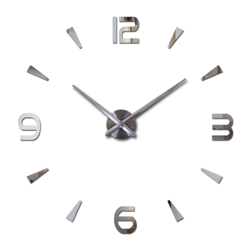 2017 neue wanduhr reloj de pared quarzuhr wohnzimmer große dekorative uhren moderne horloge murale noch leben aufkleber