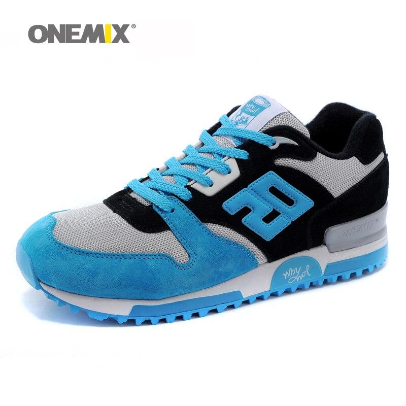 Onemix hommes de rétro sport sneakers en plein air chaussures de course pour homme vintage chaussures respirant jogging formateurs chaussures ventes liquidation