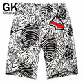GONZETANK 2017 New Summer Candy Color High Waisted Loose Beach Women and Men Bermuda Casual Sweat Jogger Cargo Shorts Size L-XXL