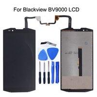 """5.7 """"original Para Blackview BV9000 Display LCD + touch screen substituição digitador para Painel de Toque BV9000 Peças de Reparo Do Telefone kit LCDs de celular     -"""