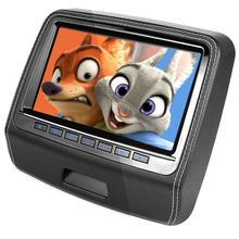 9 Inch Common Automobile Headrest DVD Participant with HDMI 800 x 480 LCD Display screen Backseat Monitor Full Practical Distant Management