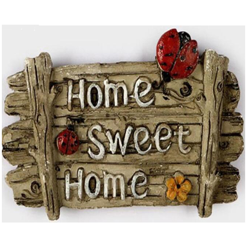 Diamond Embroidery Home sweet home DIY Diamond Painting Cross Stitch Kit 5D Full Square Diamond Mosaic Needlework BG053