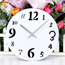 New Wall Clocks Acrylic Wall Sticker Wall Clock Time Furniture Creative DIY Wall Clock Modern Design Home Decoration For Room цена в Москве и Питере