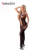 Moda 2016 Novas Mulheres Sexy Bodystocking Bodysuit uma peça Sleepwear Sensual Recorte Cadeia Accent Sheer Malha Bodystocking LC3250