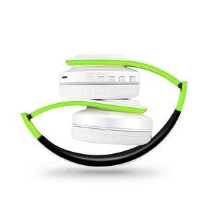 Image 2 - หูฟังไร้สายสเตอริโอบลูทูธหูฟังรองรับหูฟัง SD Card เล่นสำหรับโทรศัพท์มือถือแล็ปท็อป PC พร้อมไมโครโฟน