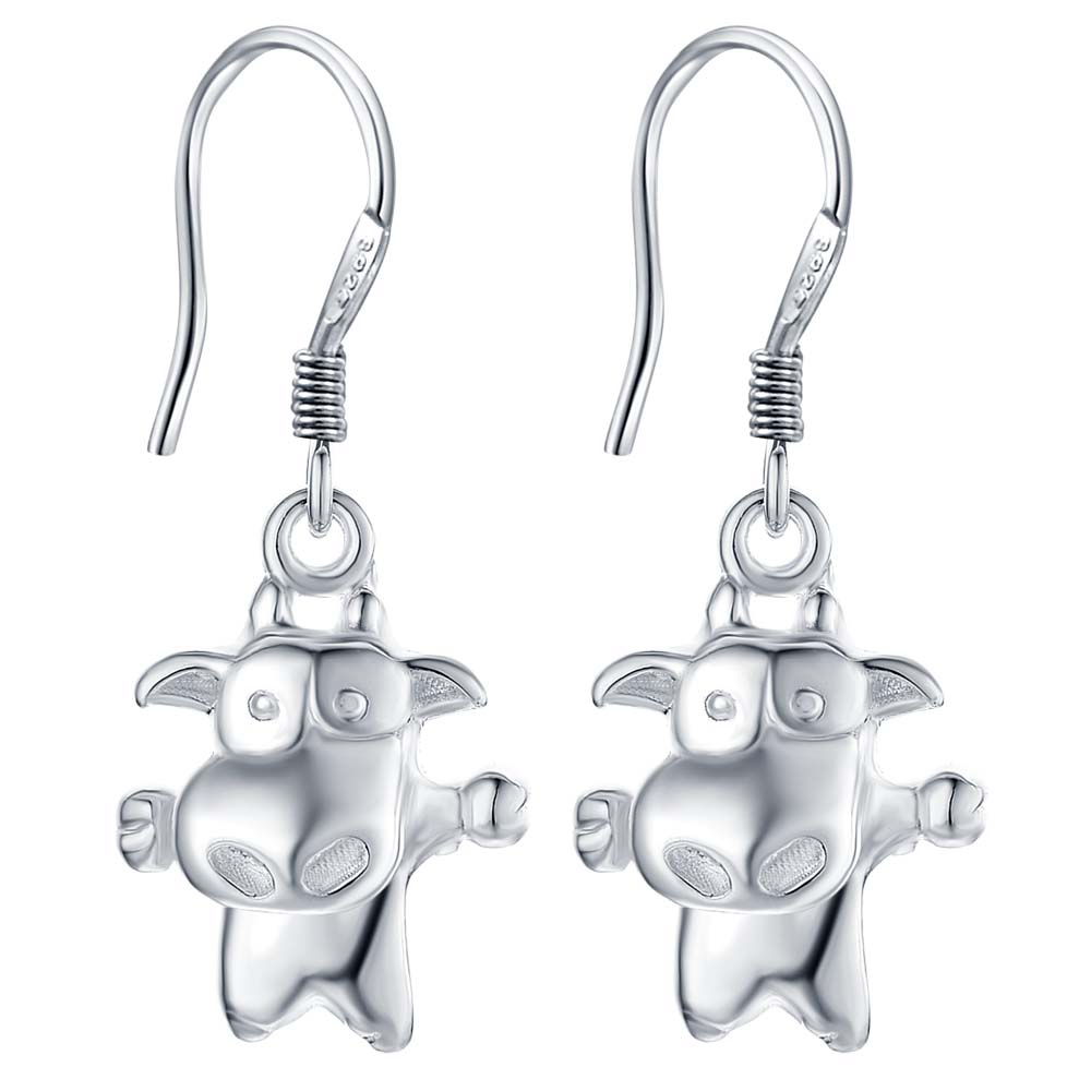 2017 Fashion Silver Jewelry Charms Costume Jewelery Animal Earrings For  Women Earrings Hanging Accessories For Jewelry