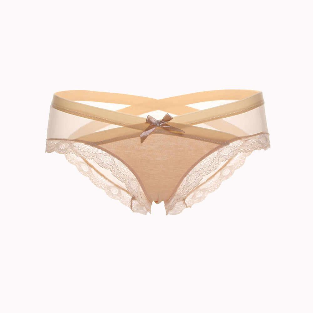 beedaf8f21d ... Sexy Women Lace Flowers Low Waist Underwear Panties G-string Lingerie  Thongs transparent lingerie porno ...