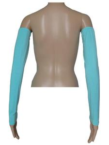 Image 2 - Women Muslim Over Sleeve Cover  Arm Cover Islam Stretch Fabric Sleeves Gloves Outdoor Cooling UV Sun Protection Sports Athletic