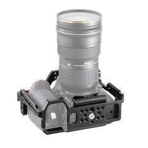Image 3 - Petite Cage de montage pour Nikon D850 avec plaque QR suisse Arca intégrée et Rail otan 2129