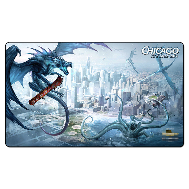 GP Chicago Playmat Playmat Magic Game PadBoard Games The Pad Play - Custom table pads chicago
