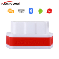 Konnwei KW901 Elm327 OBD2 Bluetooth 4 0 Adapter For Android IOS Auto Diagnosis Scanner ODB 2