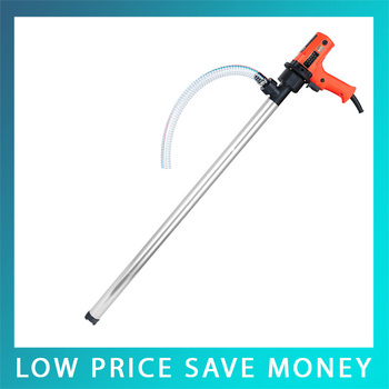 D69 720W 30-100L/min Fuel Oil Pump 220V Electric Drum Pump Vertical Pump With Stainless Steel Pipe C