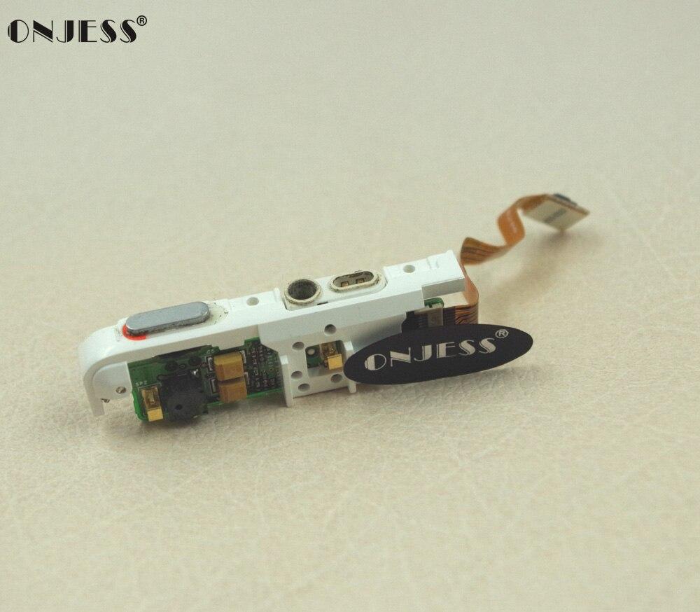 Onjess Cuffia Audio Jack Tenere Premuto L'interruttore Flex Ribbon Cable Module Per Ipod Foto A Colori 20 Gb 30 Gb