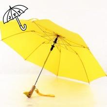 Fully-automatic self opening 3 Folding Umbrella Modest maiden Rain Women Guarda Chuva