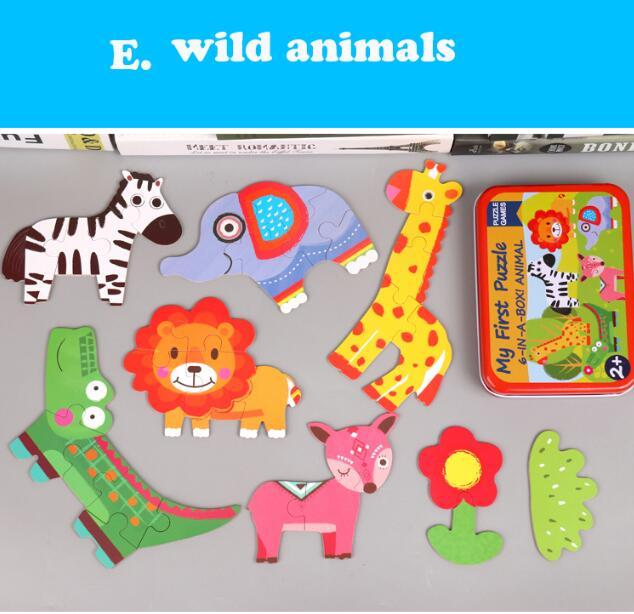 E wild animals Learning gifts for 2 year olds 5c64f56a1bb2d