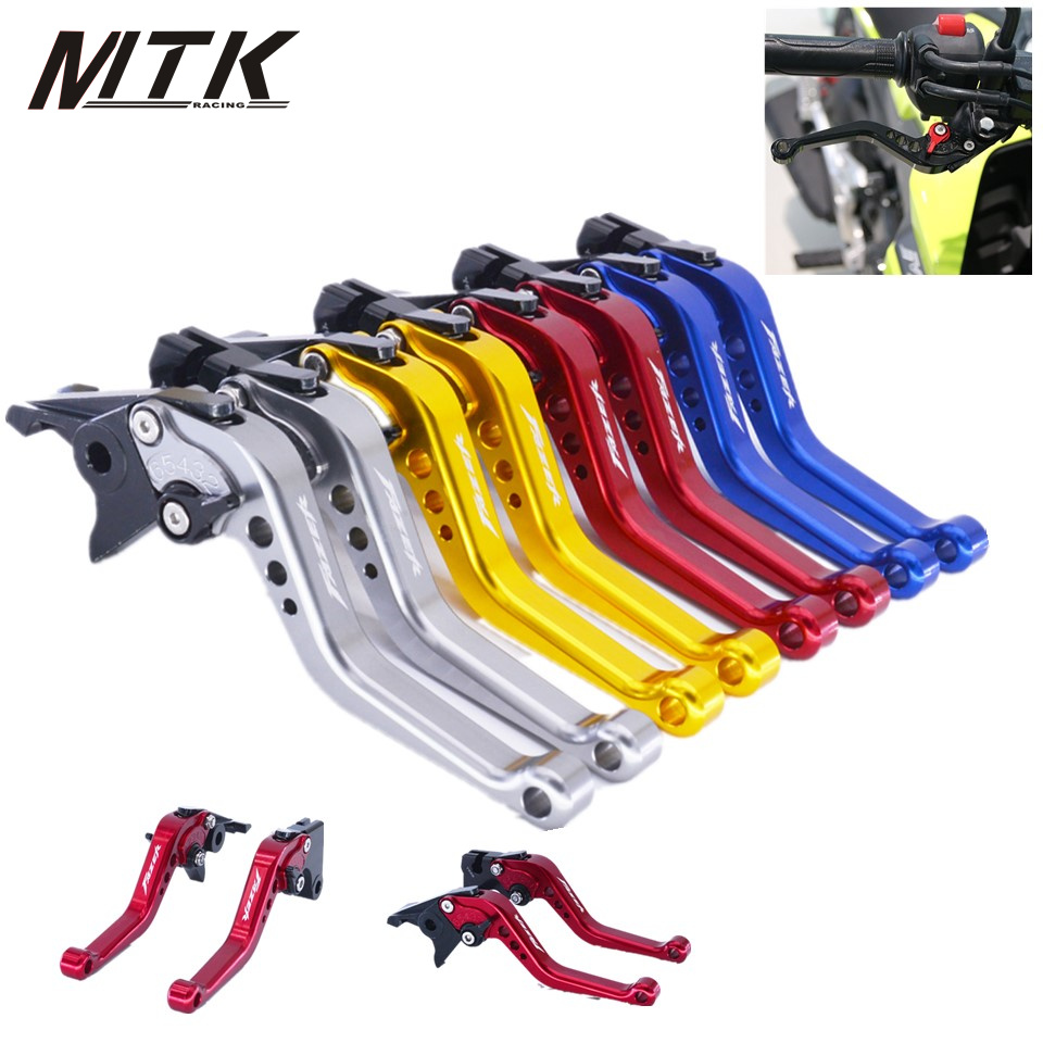 MTKRACING short Clutch Brake Levers For YAMAHA FZ6 FAZER 2004-2010 FZ1 FAZER 2006-2015 CNC Short 14.5cm CNC Aluminum motorcycle adjustable cnc aluminum brakes clutch levers set motorbike brake for yamaha fz1 fazer 2006 2013 xj6 diversion 09 15