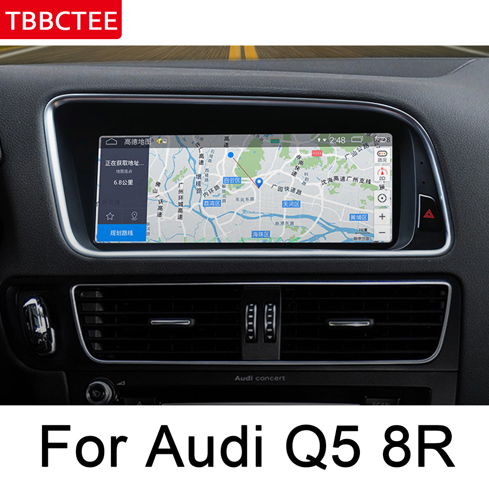 For Audi Q5 8R 2008 2017 MMI HD Screen Stereo Android Car GPS Navi Map Original Style Multimedia Player Auto Radio WIFI ISP HD in Car Multimedia Player from Automobiles Motorcycles