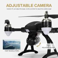 LeadingStar X34 RC Quadcopter Drone GPS 720 P WIFI HD Kamera Stała Wysokość Składane Zdalnego Sterowania Samolotu Zabawki Prezent zk49