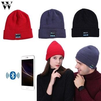 2017 WOMAIL Fashion  Bluetooth Music Hat with Stereo Headphone Headset Speaker Wireless Warm Beanie N27M30 beanie
