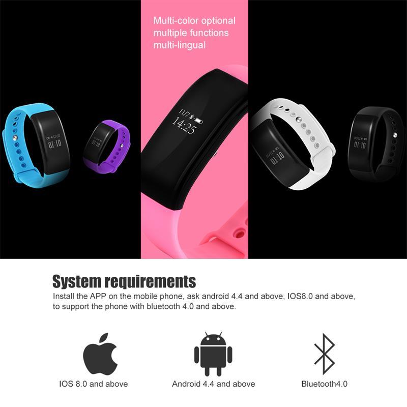 V66 pulsera inteligente impermeable 11