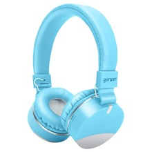 Bluetooth Wireless Headphones Foldable Headband Gorsun E86 Gaming Kids Earphones Stereo Headset with Mic for iphone Xiaomi PC felyby b3506 wireless bluetooth headphones headset foldable gaming headset v4 1 with mic for ps4 pc mac smartphones computers