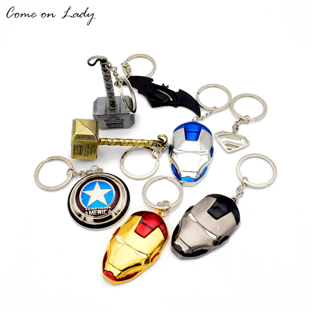 New Fashion Marvel Captain Americas Shield Superman Logo Iron Mans