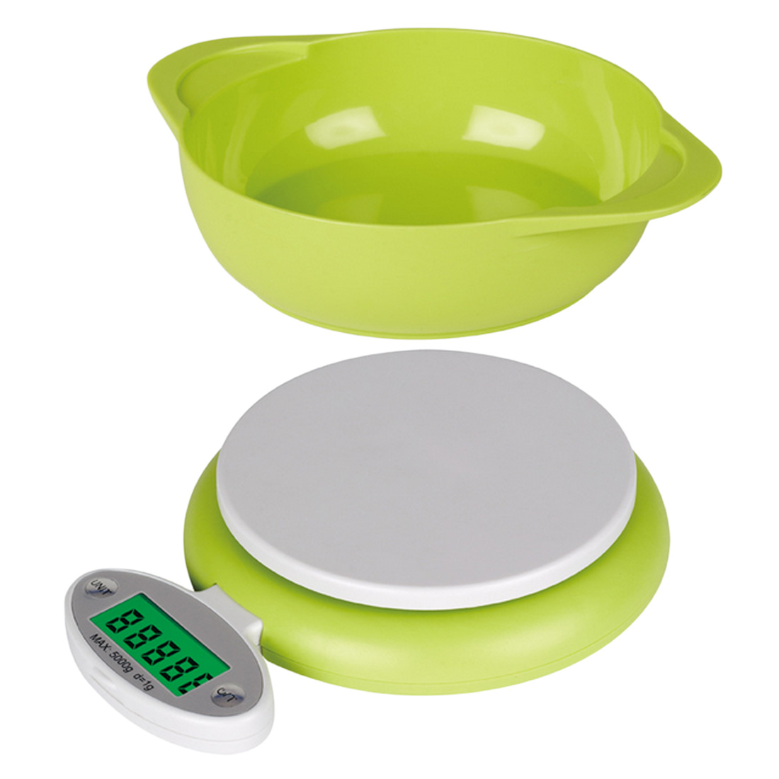 New Pop Practical 5KG/1g LCD Display Digital Scale Electronic Kitchen Food Diet Postal Scale Weight Tool with Tray Green 5pcs imported tungsten carbide right hand thread cnc rotary burrsspiral end mill pcb engraving router bits shank ced 1 0mm