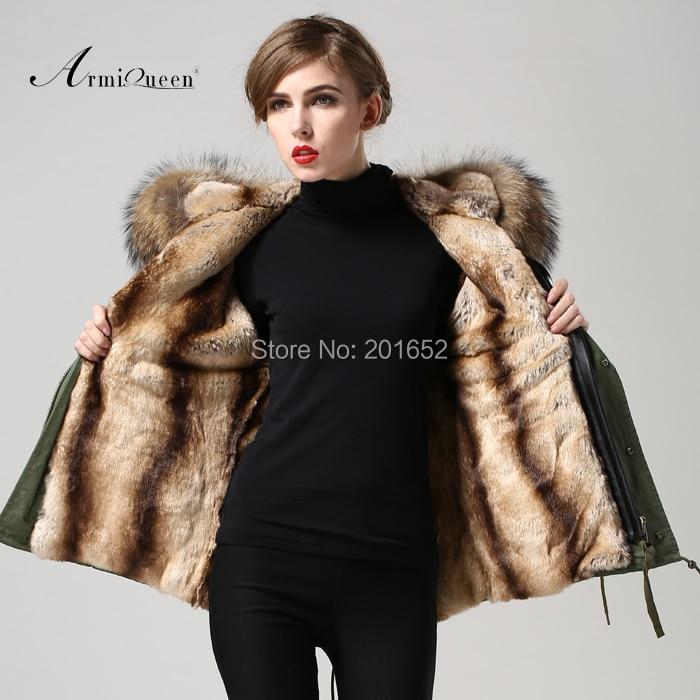 spring fur coat female slim winter jackets women wf-654 fur coats with big real dog fur collar mr fur jackets