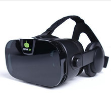 MLLSE 2F virtual reality 3d glasses headset mobile phone theater dragon valley game helmet(China)