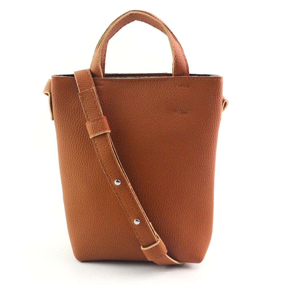Новый Для женщин элегантный кожаный Высокое качество сумочке дамы Магнитная Buck сумка Обувь для девочек одноцветное простая сумка женский к... ...