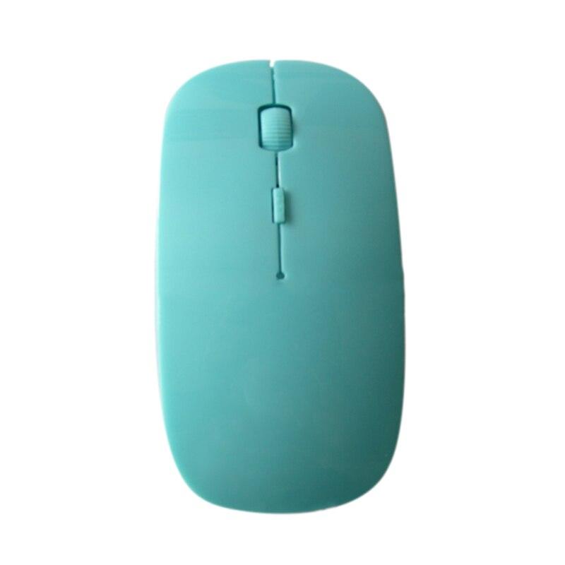 Etmakit 2.4GHz Ultrathin Wireless Optical Mouse 1200DPI USB PC Laptop Computer Gaming Mice Gift NK-Shopping