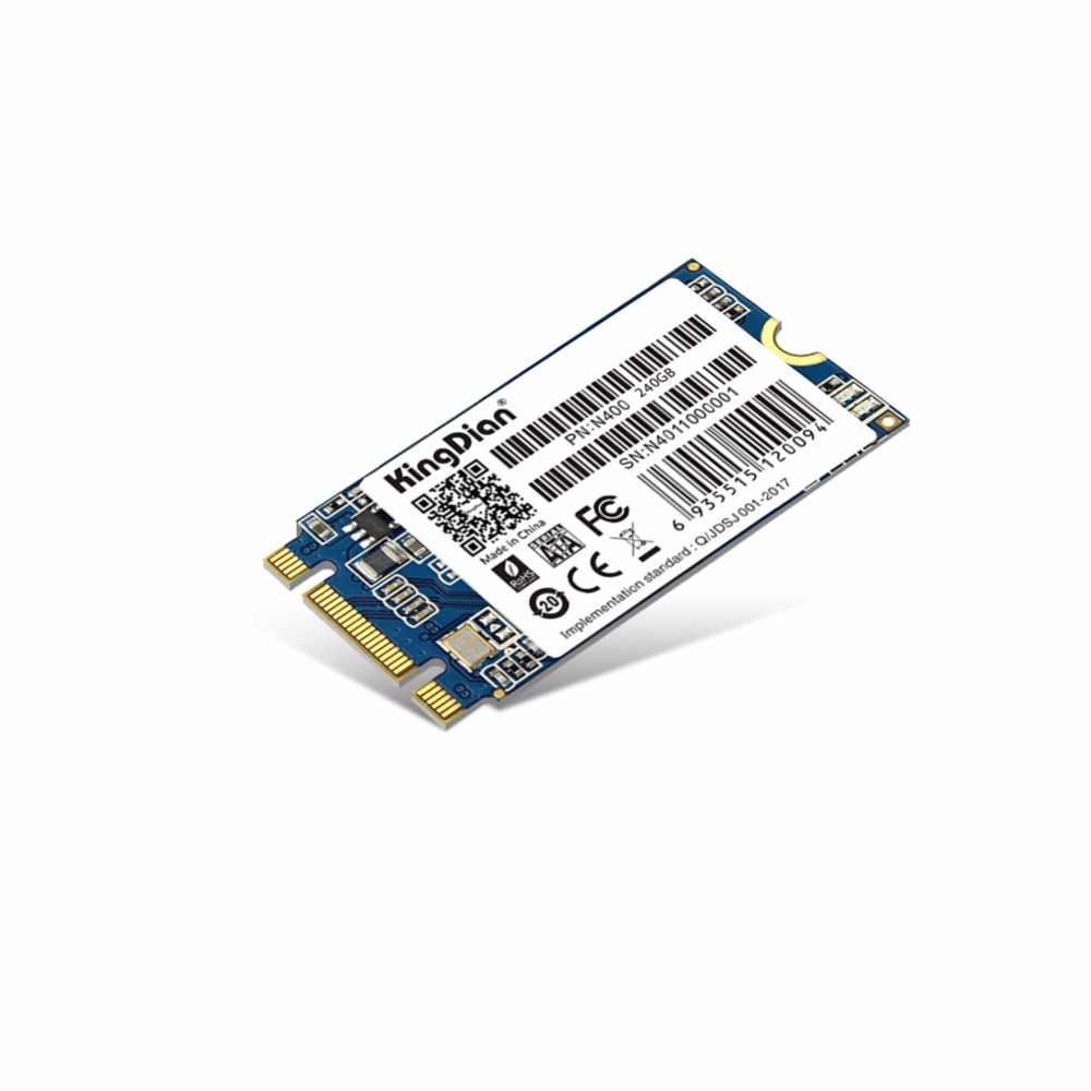 (N400-240GB) KingDian interna de unidad de estado sólido de disco duro Ultra delgado actualización M.2 NGFF 240 GB 256G