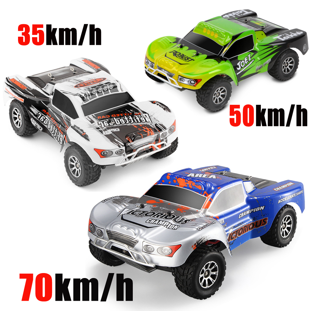 WLtoys A969-B/A 1:18 Electric 4WD RC Buggy Remote Control Car Radio-controlled Cars Highspeed RC Car 35-70km/h Off Road Truck
