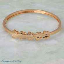 Trendy Brand designer Bracelets & bangles gold fashion jewelry for women B244