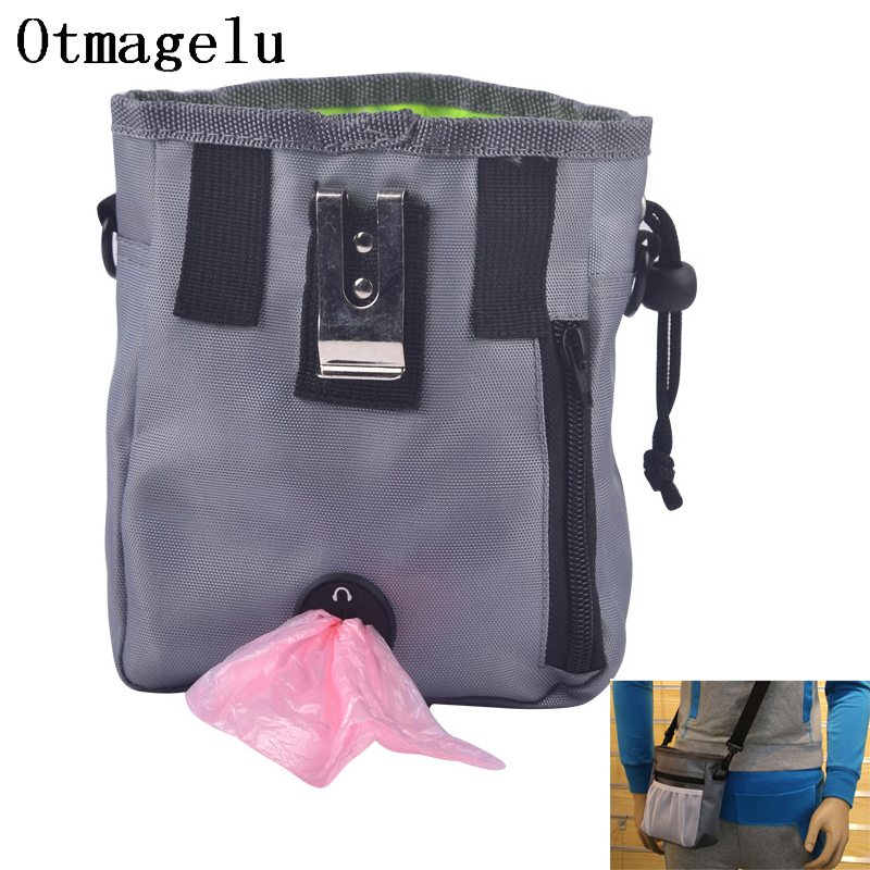 Pet Dog Pouch Dog Training Treat Bags Portable Detachable Doggie Pet Feed Pocket Pouch Puppy Snack Reward interactive Waist Bag4