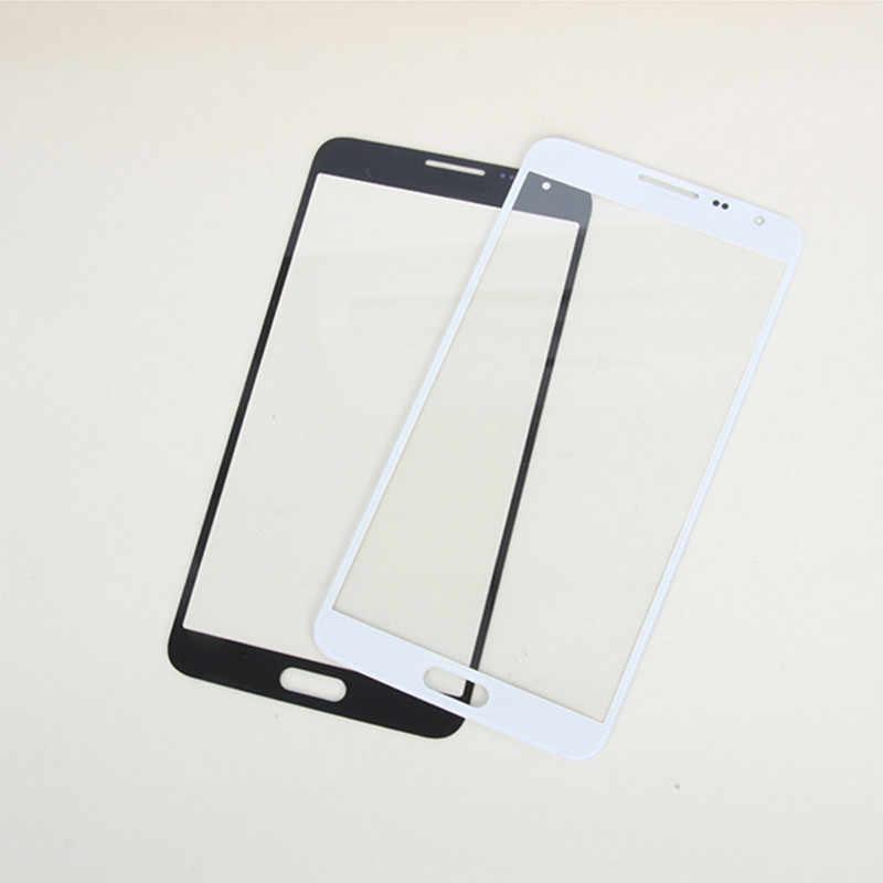 Ferramentas + 3 YEDAI Adesivo 3M Em Estoque Tela Sensível Ao Toque de Substituição Para Samsung Nota 3 Mini N7505 Frente Digitador Toque tela Preta De Vidro