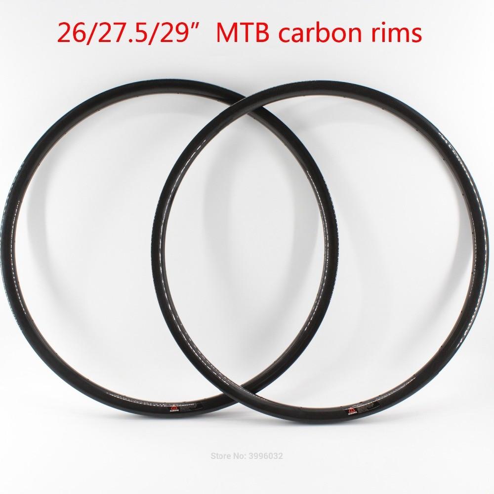 New 26 27 5 29er inch mountain bike 3K UD 12K full carbon fibre bicycle wheelset