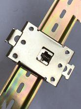 5 pcs Monofásica SSR 25DA 40DA AA DD 35 MM trilho DIN Relé de Estado sólido clipe grampo suporte de montagem R99-12 Relés de Estado Sólido