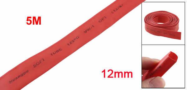 Fil de gaine thermorétractable Uxcell longueur rouge 5 M pour connecter le fil électrique de manutention finale