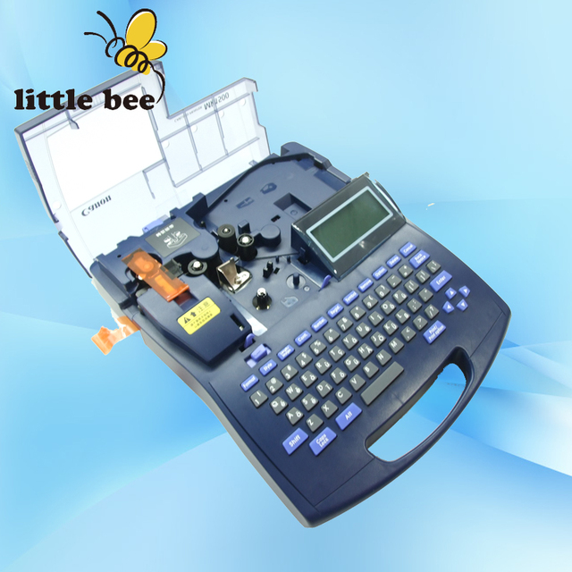 CABLE ID PRINTER type writer MK1000 electronic lettering machine ...